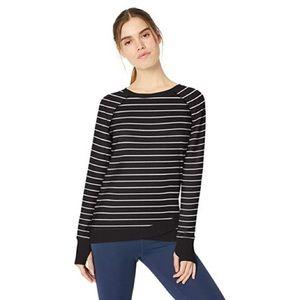 Danskin Women's Criss Cross Tunic Shirt Sweater